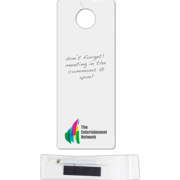 Promotional Dry Erase Door Hanger