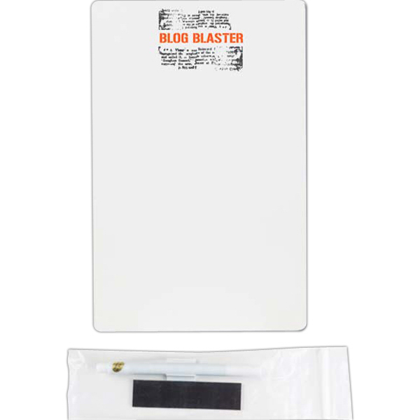 Imprinted Dry-Erase Mirage Board (TM) - 15 pt