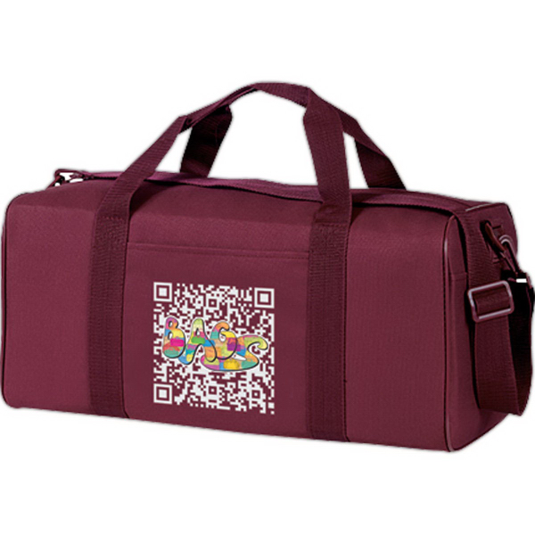 Personalized Economy Square Duffle