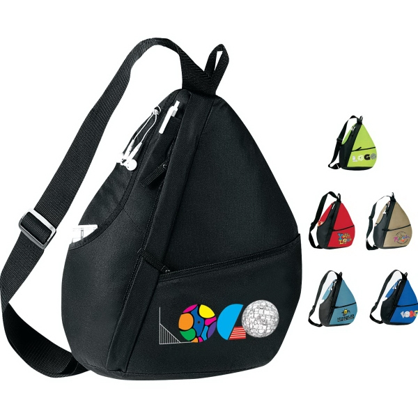 Imprinted Elite Sling Backpack