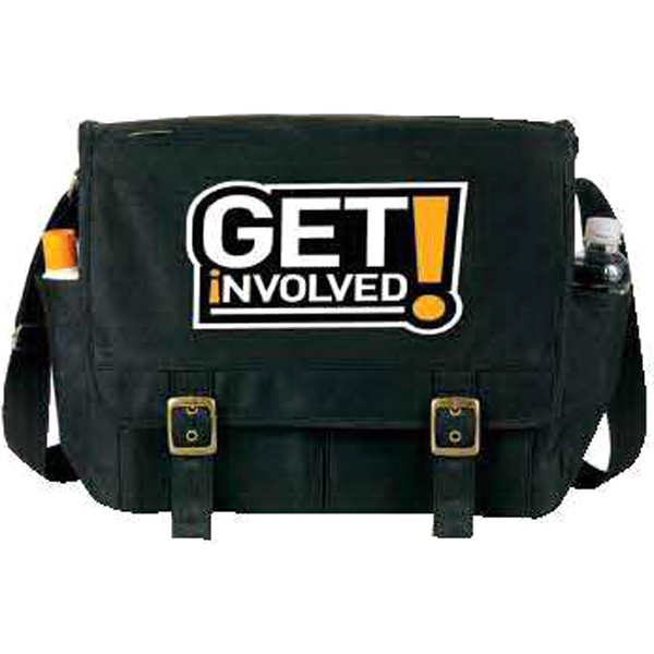 Promotional An eGREEN Messenger Bag
