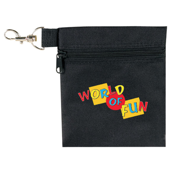 Imprinted Golf Tee Pouch