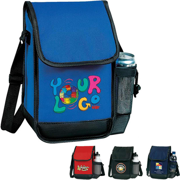 Printed Executive Lunch Bag with Bottle Holder