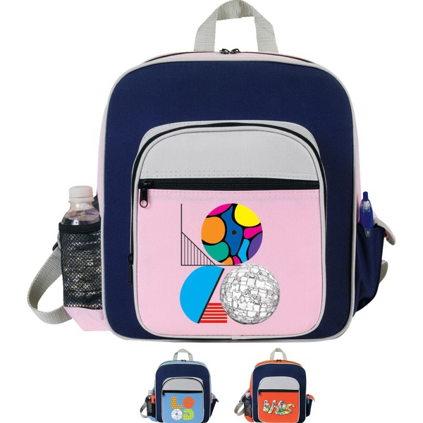 Printed Contemporary Kid's Backpack