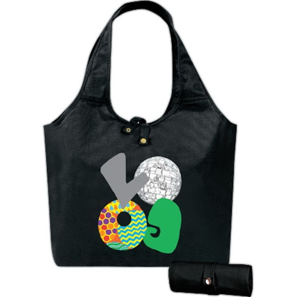 Personalized An eGREEN Roll-Up Tote II