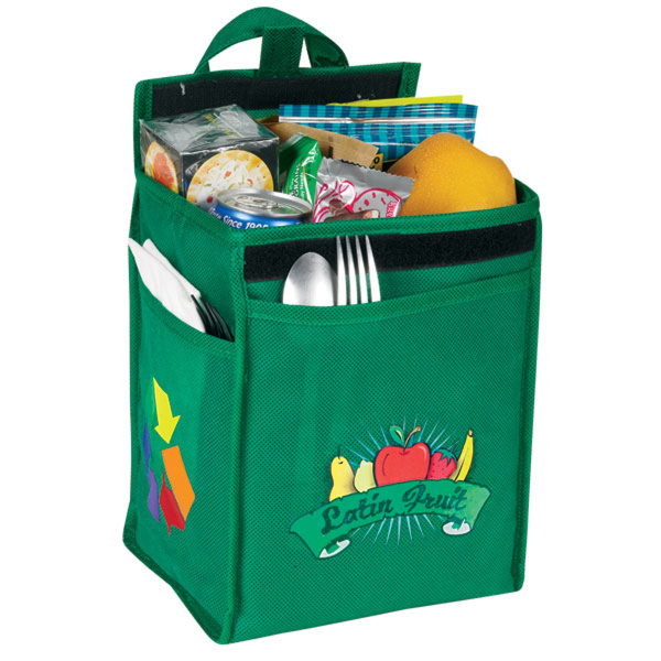 Promotional An eGREEN Lunch Bag with Bottle Pocket