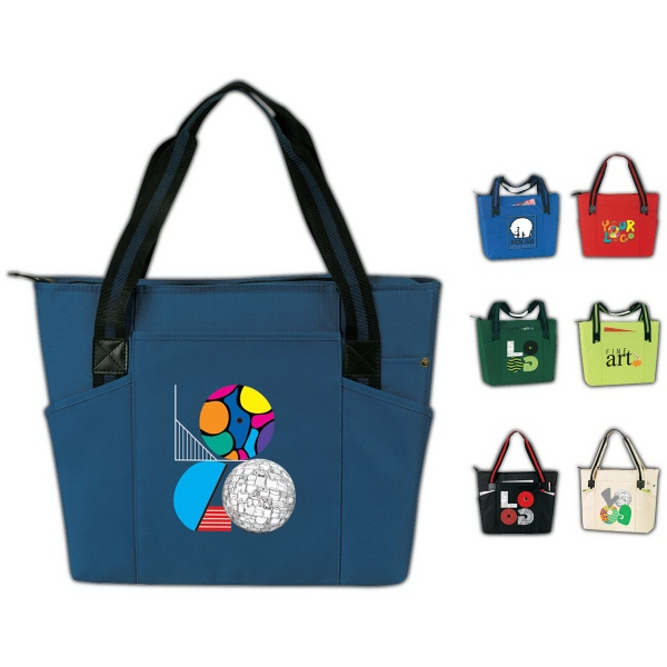 Personalized An Urban Zip Tote