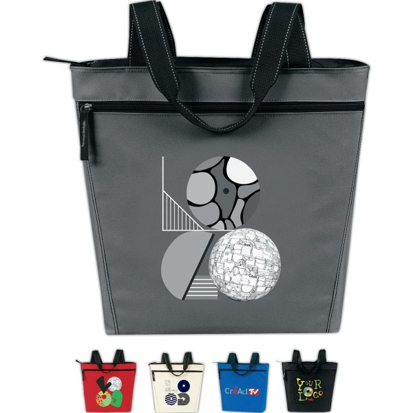 Custom Promotional Zip Tote