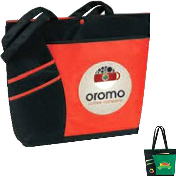Personalized An eGREEN Accent Tote