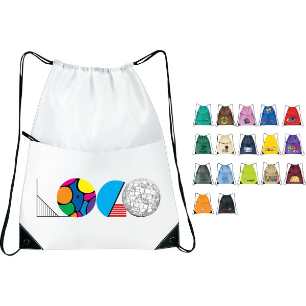 Personalized All-Purpose Drawstring Tote II