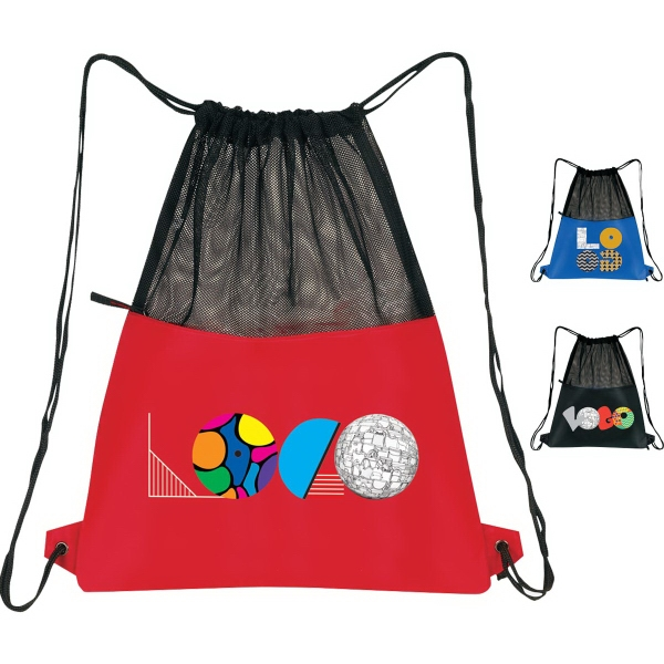 Customized Mesh Drawstring Pack