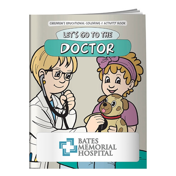 Customized Coloring Book: Let's Go to the Doctor