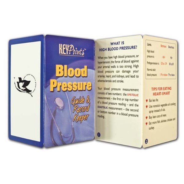 Printed Key Point: Blood Pressure - Guide & Record Keeper
