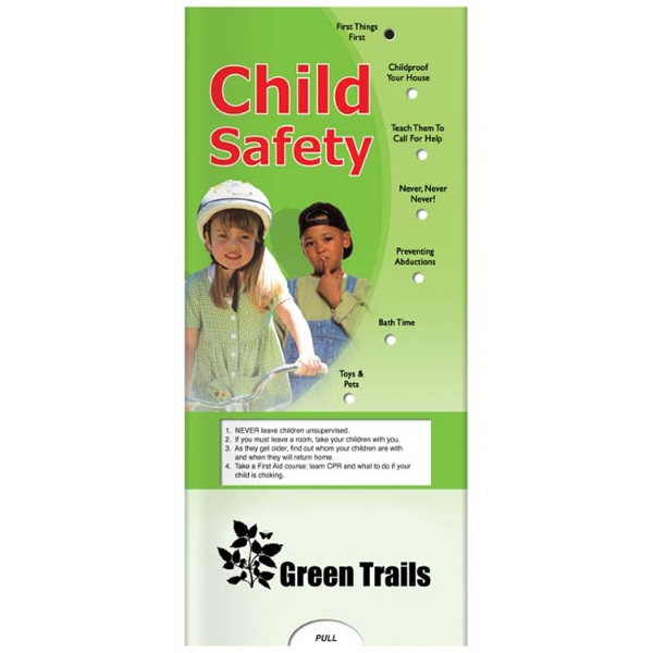 Printed Pocket Slider: Child Safety