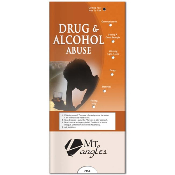 Personalized Pocket Slider: Drug & Alcohol Abuse