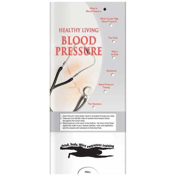 Customized Pocket Slider: Blood Pressure