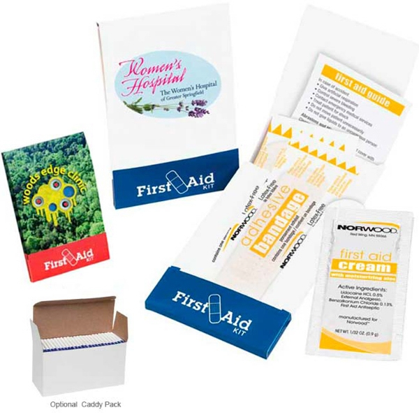Printed Pocket First Aid Kit