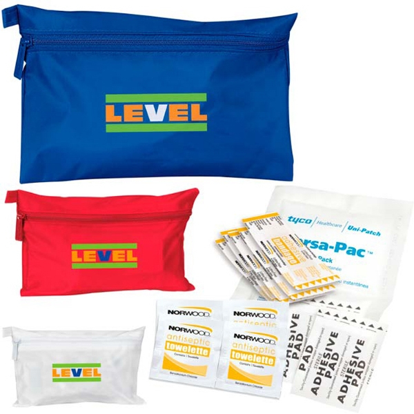 Printed Sports Injury First Aid Kit