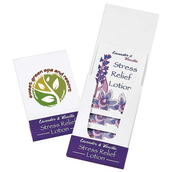 Imprinted Relax Lotion Pocket Pack