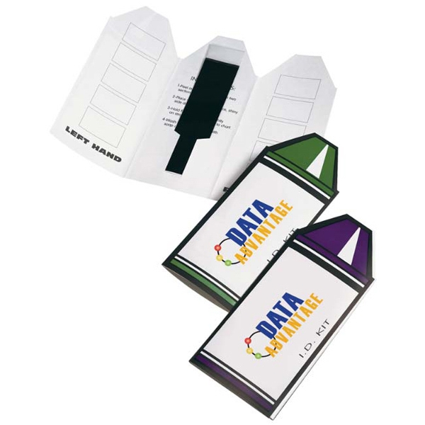 Imprinted Crayon I.D. Kit
