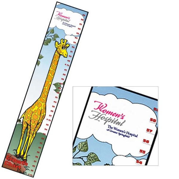 Promotional Giraffe Growth Chart