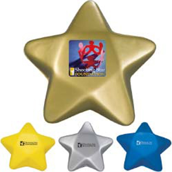 Customized Star Stress Ball