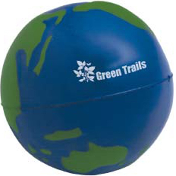 Promotional Globe Stress Ball