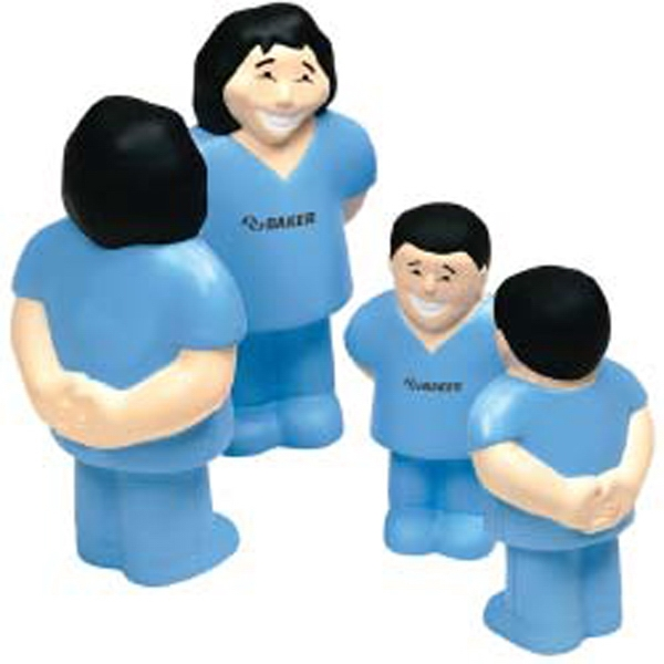 Imprinted Healthcare Worker Stress Ball
