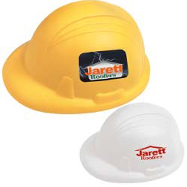 Imprinted Hard Hat Stress Ball
