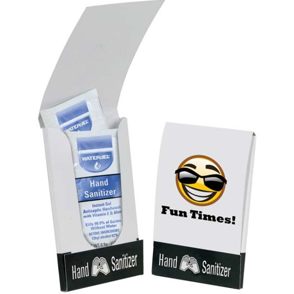 Custom Instant Hand Sanitizer Pocket Pack