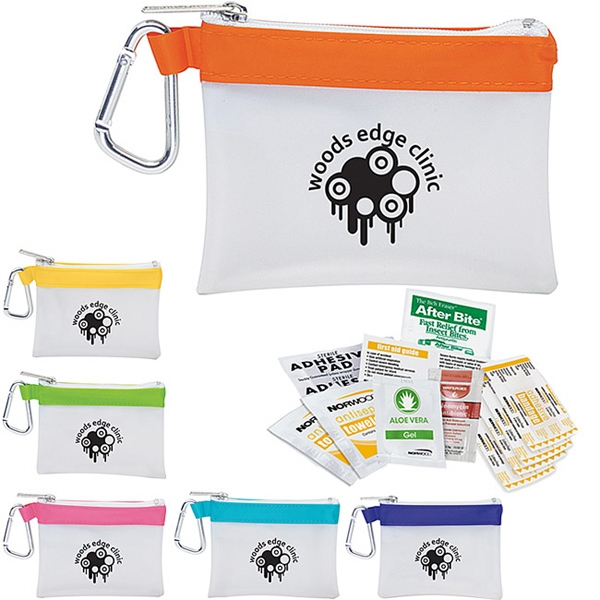 Custom Frosty Stripe First Aid Kit