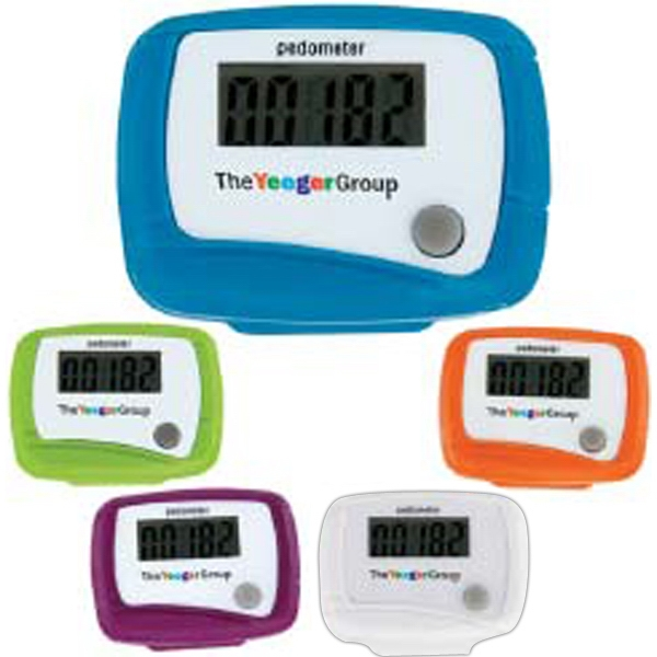 Promotional Value Pedometer