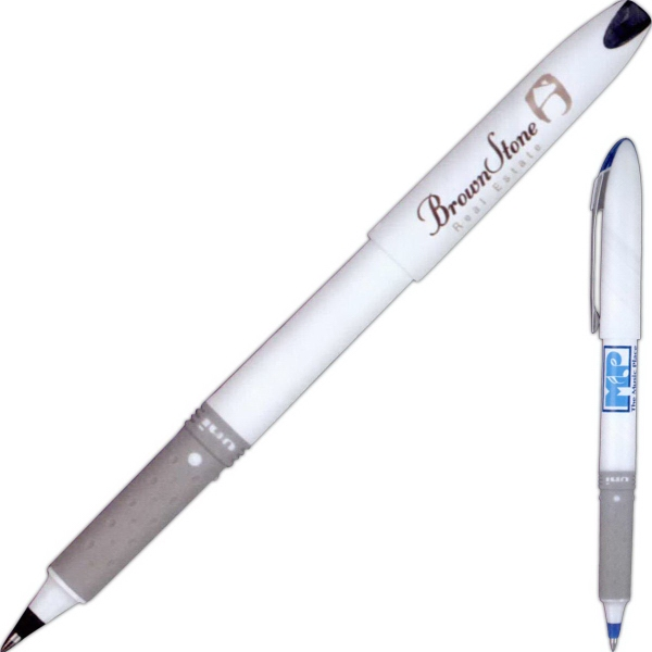 Promotional Roller Grip Fine Tipped Rollerball Pen