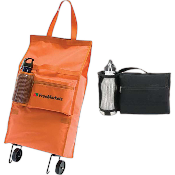 Customized Fold-N-Roll Wheeled Bag
