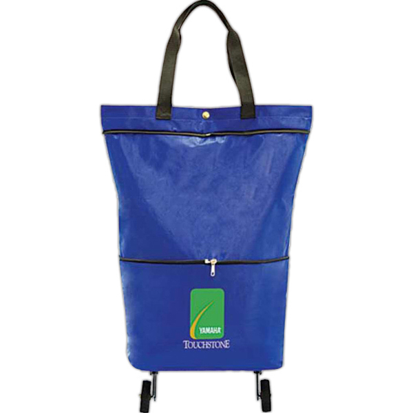 Customized Tote-n-Roll Wheeled Tote
