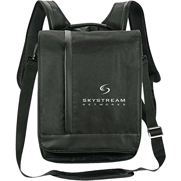 "Customized Vortex 15.4"" Computer Messenger/Backpack"