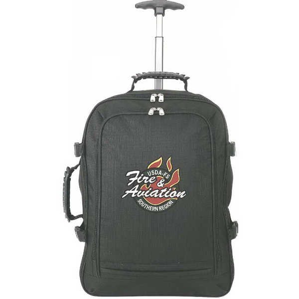 "Custom XXL Rolling Cargo 15.4"" Laptop Backpack"