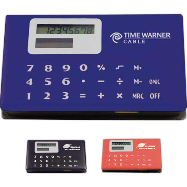 Personalized Memo Holder with Calculator