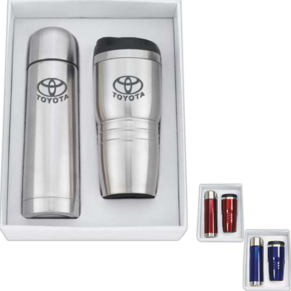 Personalized Stainless Steel Thermos & Tumbler