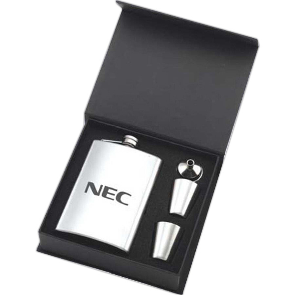 Promotional Flask Gift Set
