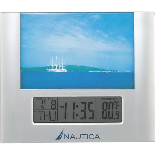 Custom Picture Frame LCD Clock
