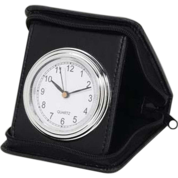 Personalized Folding Travel Alarm Clock