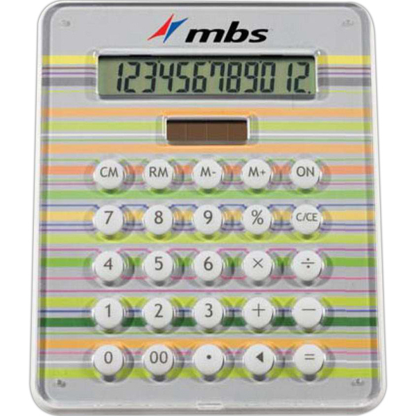 Customized 12-Digit Full Color Calculator