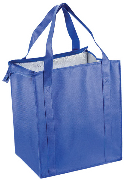 Promotional Eco-Friendly Zippered Grocery Bag