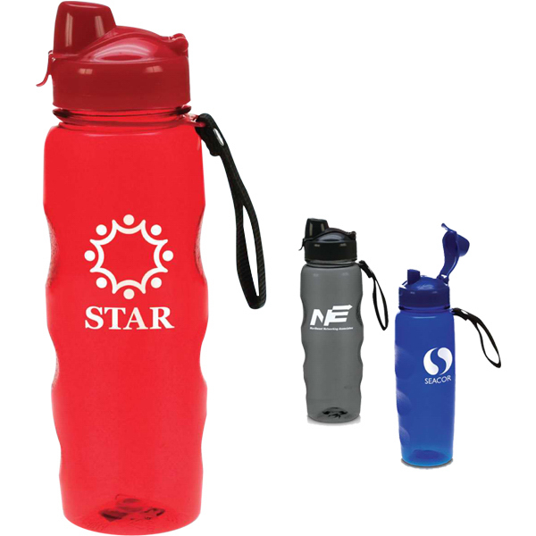 Customized Groove 23 oz. BPA-free Sports Bottle