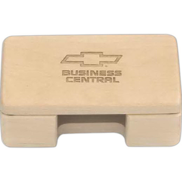 Promotional Maple Business Card Holder