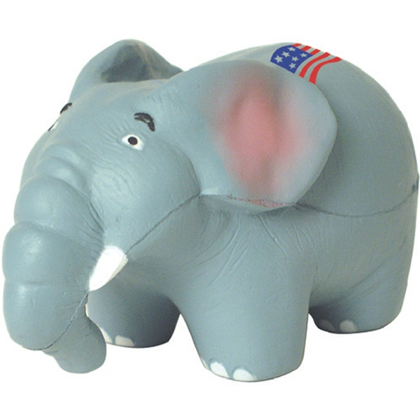 Promotional Squeezies (R) elephant stress reliever
