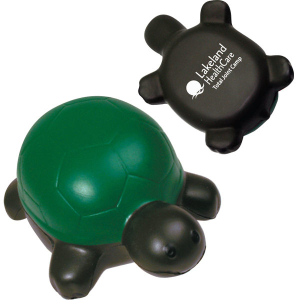 Printed Squeezies (R) turtle stress reliever