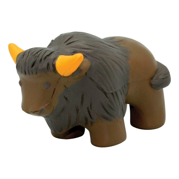 Customized Squeezies (R) buffalo stress reliever