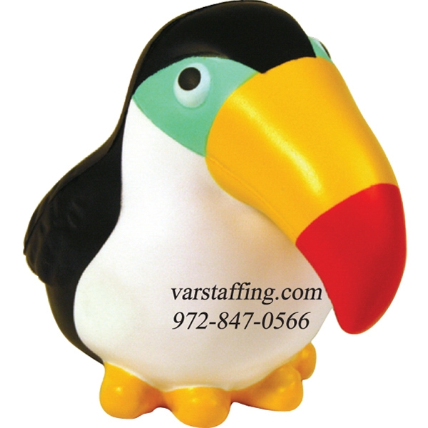 Promotional Squeezies (R) toucan stress reliever